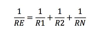 Calculo de resistencias en equivalente