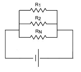 Ejemplo del calculo de resistencia equivalente en paralelo