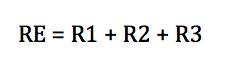 Calculo de resistencia equivalente en serie
