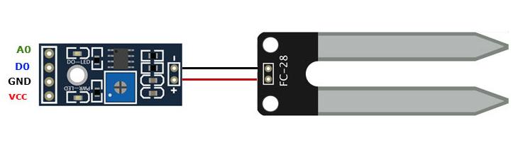Sensor de humedad FC28