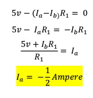 Ecuaciones segunda ley de kirchoff - ejercicio de ejemplo - electrontools