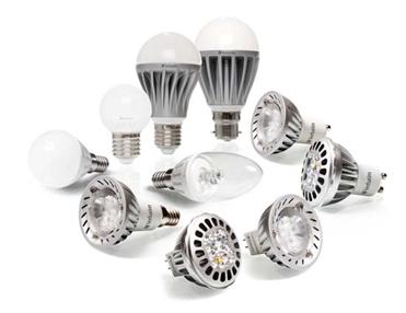 Diferentes tipos de bombillas led