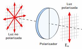 290f1e7b12 ... plano horizontal, de lo cual se obtiene una onda que vibra solo en el  plano vertical (polarizada verticalmente); en cambio, un filtro con eje  horizontal ...