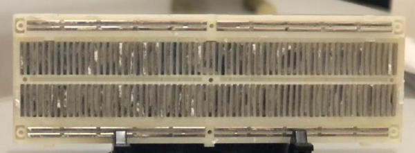 Conexión interna de un protoboard